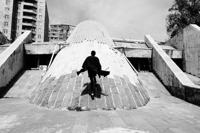 Architecture of Doom Viacheslav Vazyulya - 2017 Yeritasardakan subway station, Yerevan (Armenia), Stepan Kyurkchyan, 1981